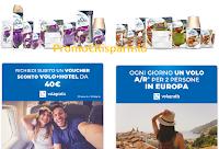 Logo Concorso ''Partiamo Insieme Glade 2020'': premio certo buono Volagratis da 40 euro e vinci voli per 2 persone
