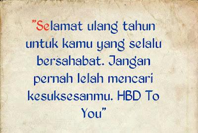 ucapan ulang tahun untuk teman perempuan