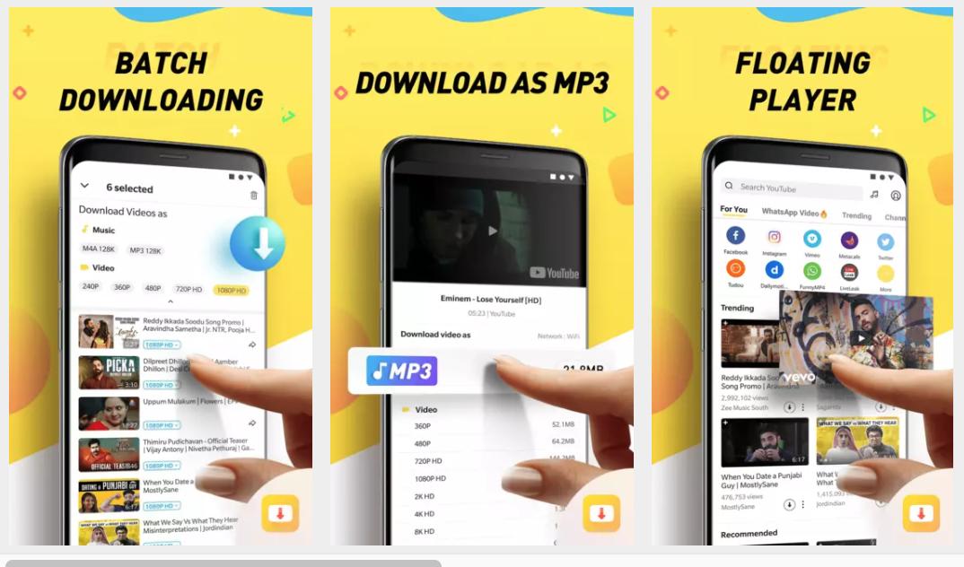 Free Download Snaptube Mod Apk V4 59 0 4592410 Android Terbaru Tanpa