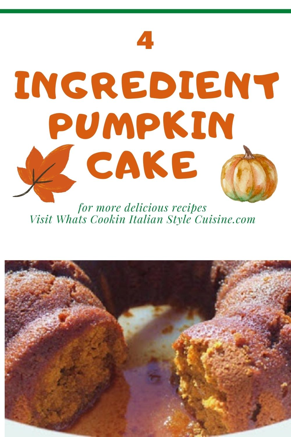 this is a pin for later for pumpkin rum cake