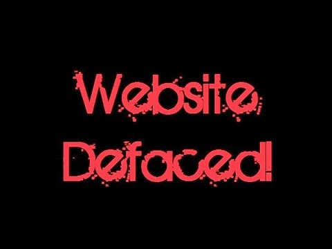Hasil gambar untuk Apa Itu Deface Website, Jenis dan Cara Mengatasinya