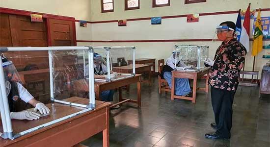 Simulasi dan Sekolah Percontohan Nasional KBM Tatap Muka di Masa COVID-19