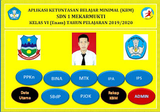 Aplikasi KKM Kurikulum 2013 Kelas 6 SD TP 2019/2020 - http://www.librarypendidikan.com/