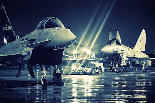 Pesawat tempur Eurofighter Typhoon yang dilirik Indonesia