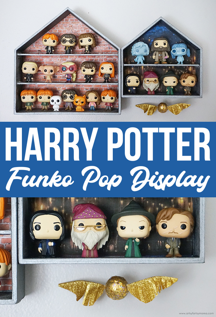 DIY Harry Potter Funko Pop Display