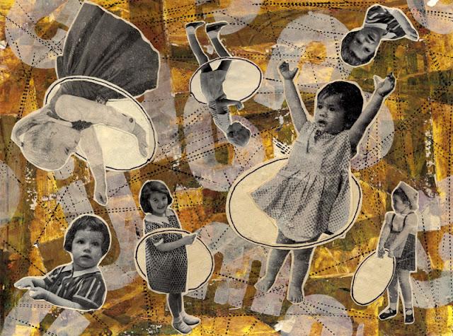 Hula hoop collage