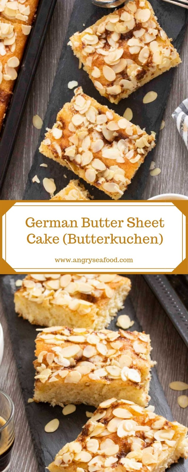 German Butter Sheet Cake (Butterkuchen)