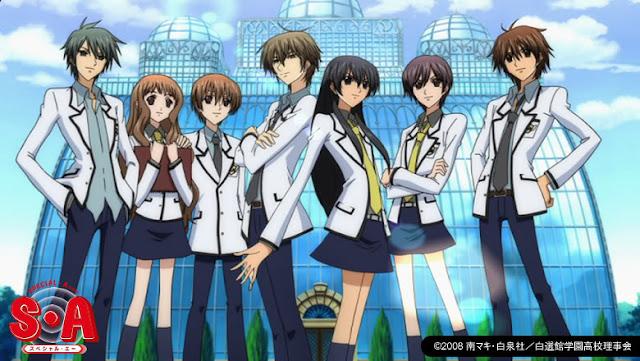 Special A - Anime Romance Comedy