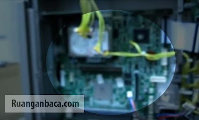 Terbaru panduan membuka PCB Counter dan SN Canon IR6570 disertai gambar