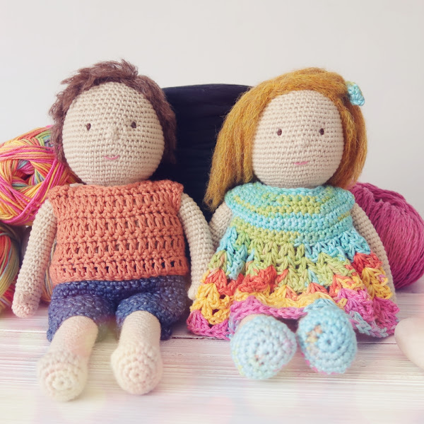 MY CROCHET DOLL | THE MATERIALS