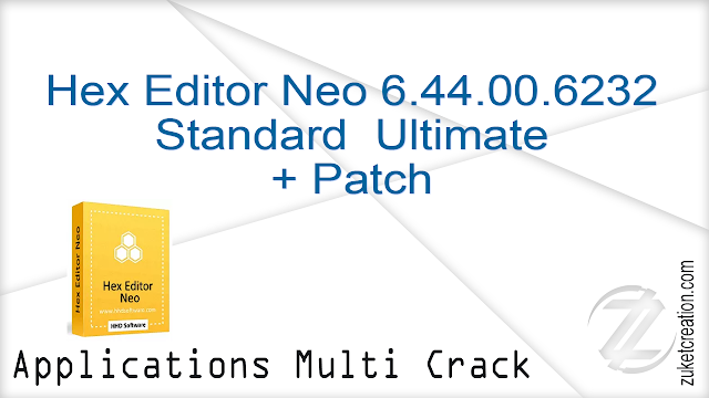 Hex Editor Neo 6.44.00.6232 Standard  Ultimate + Patch   |  16 MB