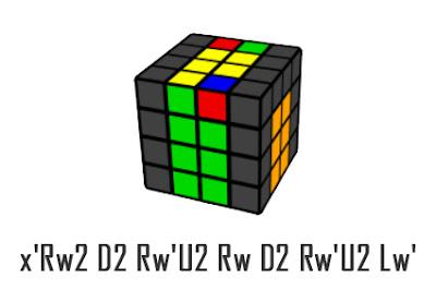 last 2 edges 4x4x4 cube - 3