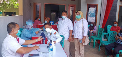 DPC Gerindra Kota Tangerang Adakan Progran Vaksinasi Massal di 6 Titik