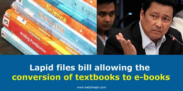 Lapid files bill allowing the conversion of textbooks to e-books