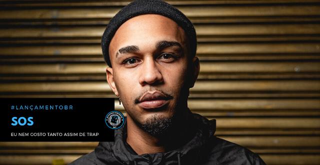 """""""Eu Nem Gosto Tanto Assim de Trap"""",  é o novo álbum do rapper carioca SOS"""