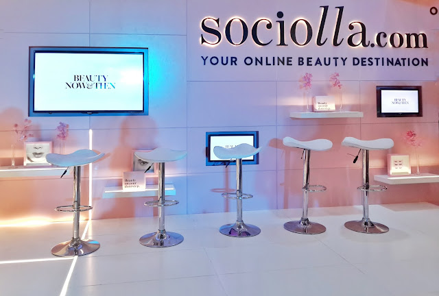sociolla, popup, beauty, skincare, tools, hair, ecommerce