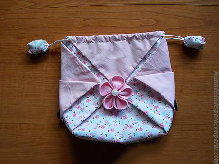 Manualidades para compartir bolsa de tela china como for Manualidades con tela paso a paso