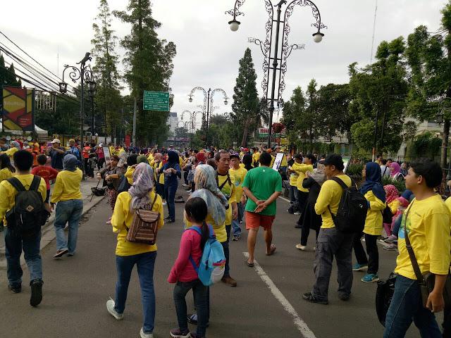 Masyarakat Kota Bandung - Car Free Day
