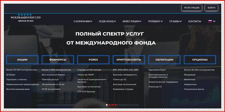 [ЛОХОТРОН] tradersplatform.net – Отзывы, развод? Компания WOLFRAM INVESTMENTS LTD мошенники!