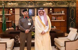 Pangeran Saud bin Nayef masuk kantor