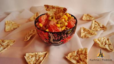 Sałatka z tuńczyka i grejpfruta