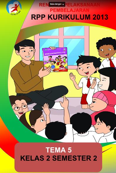 Download Rpp K13 1 Lembar Kelas 2 Sd Guru Berbagi