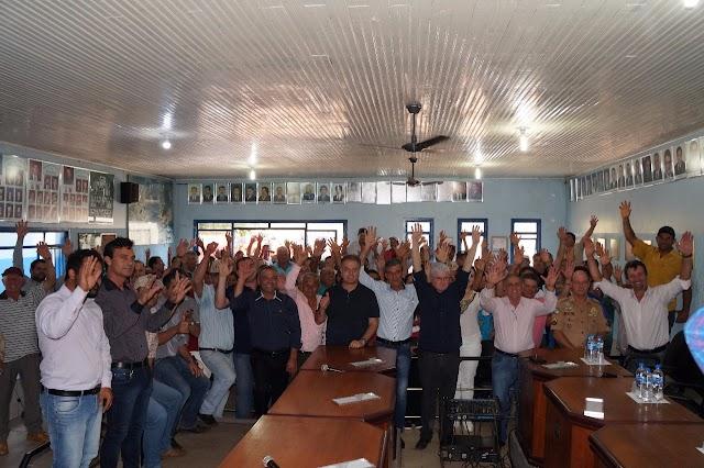 Chefe da Casa Civil Valdir Rossoni e o Deputado Plauto Miró anunciam investimentos de R$ 4.724.500,00 em Nova Cantu