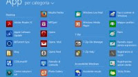 Apri elenco di tutte le app e programmi col tasto Start in Windows 8.1