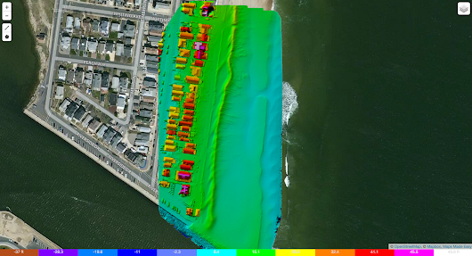 Mapping Manasquan Inlet and Whiting Beach - 01/02/2016 - Jersey Shore Drone