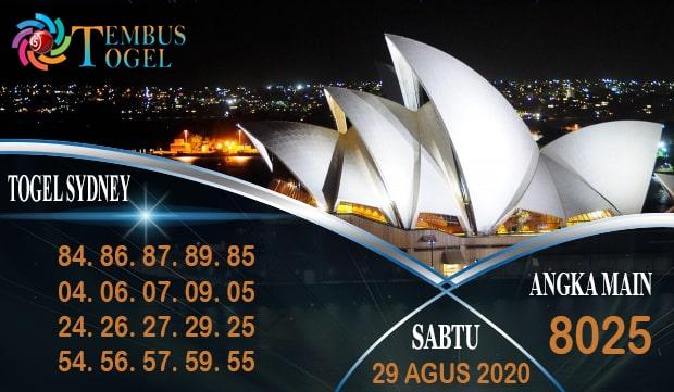 Bocoran Angka Togel Sidney Sabtu 29 Agustus 2020