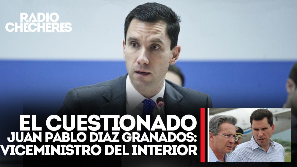 El cuestionado Juan Pablo Diaz Granados: Nuevo Viceministro del Interior