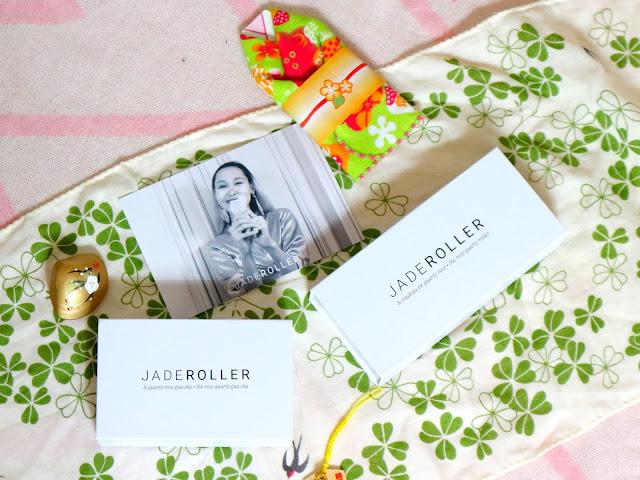 Deux boite contenant les produits de la marque Jade Roller.