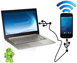 Cara Tethering dari HP Android ke Laptop buat Hotspot Terbaru 2018