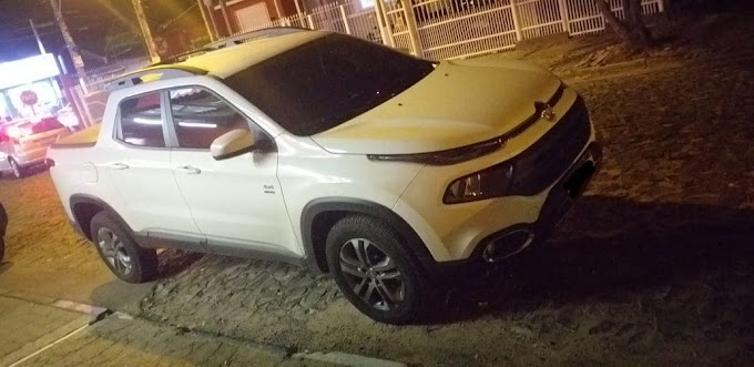 Brigada Militar recupera caminhonete roubada durante Operação Cachoeirinha Segura
