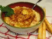 Хумус и сусамов тахан * Hummus di ceci e Tahina fatti a casa