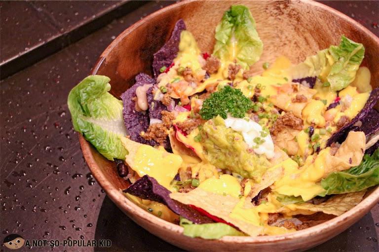 Nacho Bowl Salad of Encima Roofdeck, Tex-Mex Unlimited