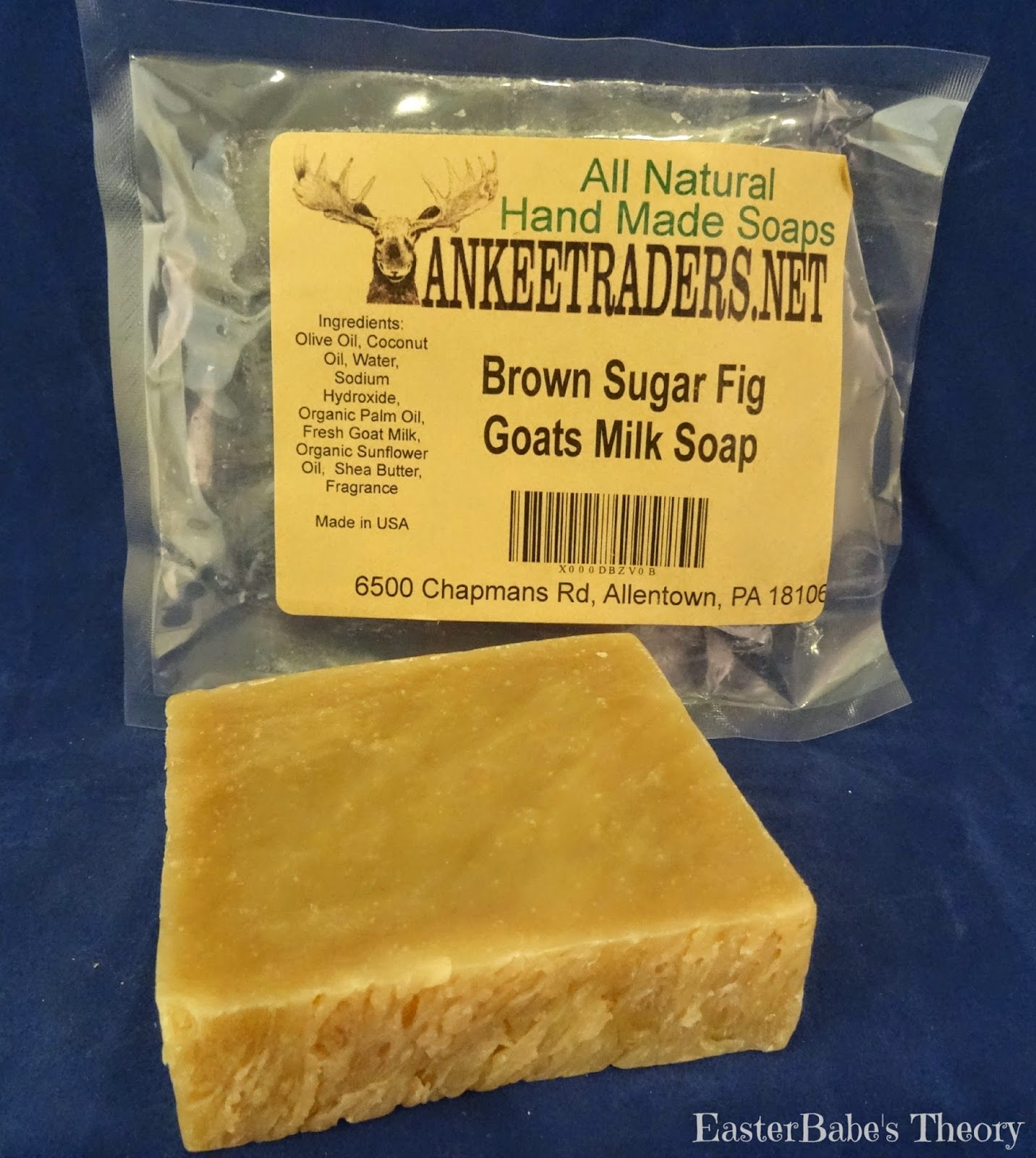 Yankee Traders Brown Sugar Fig Goats Milk Soap All Natural Handmade