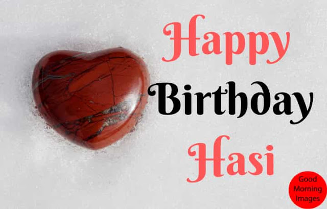 happy birthday cake images with name hasi