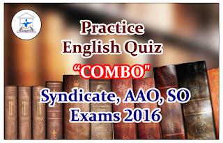 """Practice English Quiz """"COMBO"""