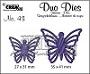 https://www.all4you-wilma.blogspot.com https://www.crealies.nl/detail/1673165/duo-dies-no-43-vlinders-5-butt.htm