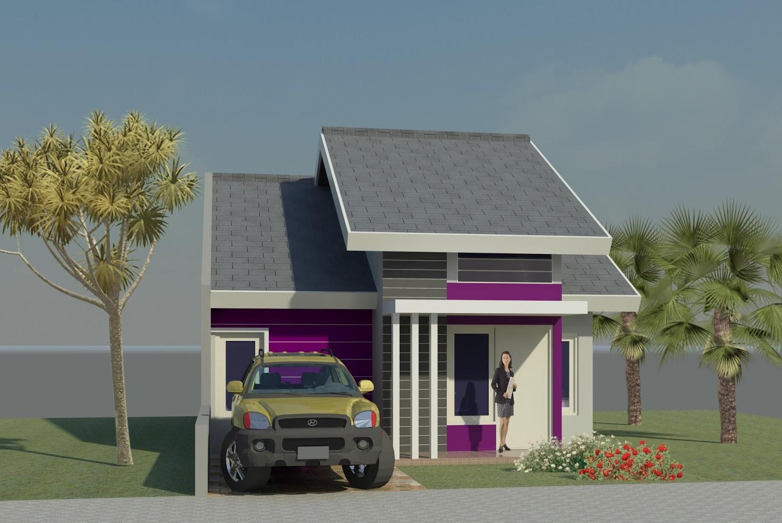 Desain 3d Desain Rumah Type 45 Idaman