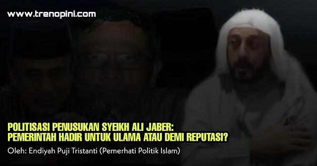 Publik harus mencatat bahwa model peristiwa seperti penusukan Syeikh Ali Jaber bukan yang pertama terjadi. Selama ini pola peristiwa serupa telah terjadi berulang dan korbannya adalah ulama dan ustadz. Lalu pelaku selalu dikaitkan dengan gangguan kejiwaan, yang dalam persepsi publik dianggap orang gila.