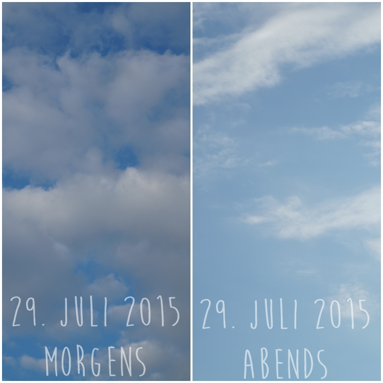 Blog & Fotografie by it's me! - Himmel am 29.07.2015