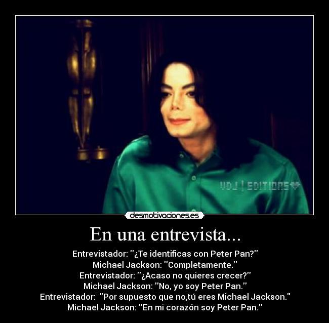 El Unico Rey Del Pop Michael Jackson Frases De Michael