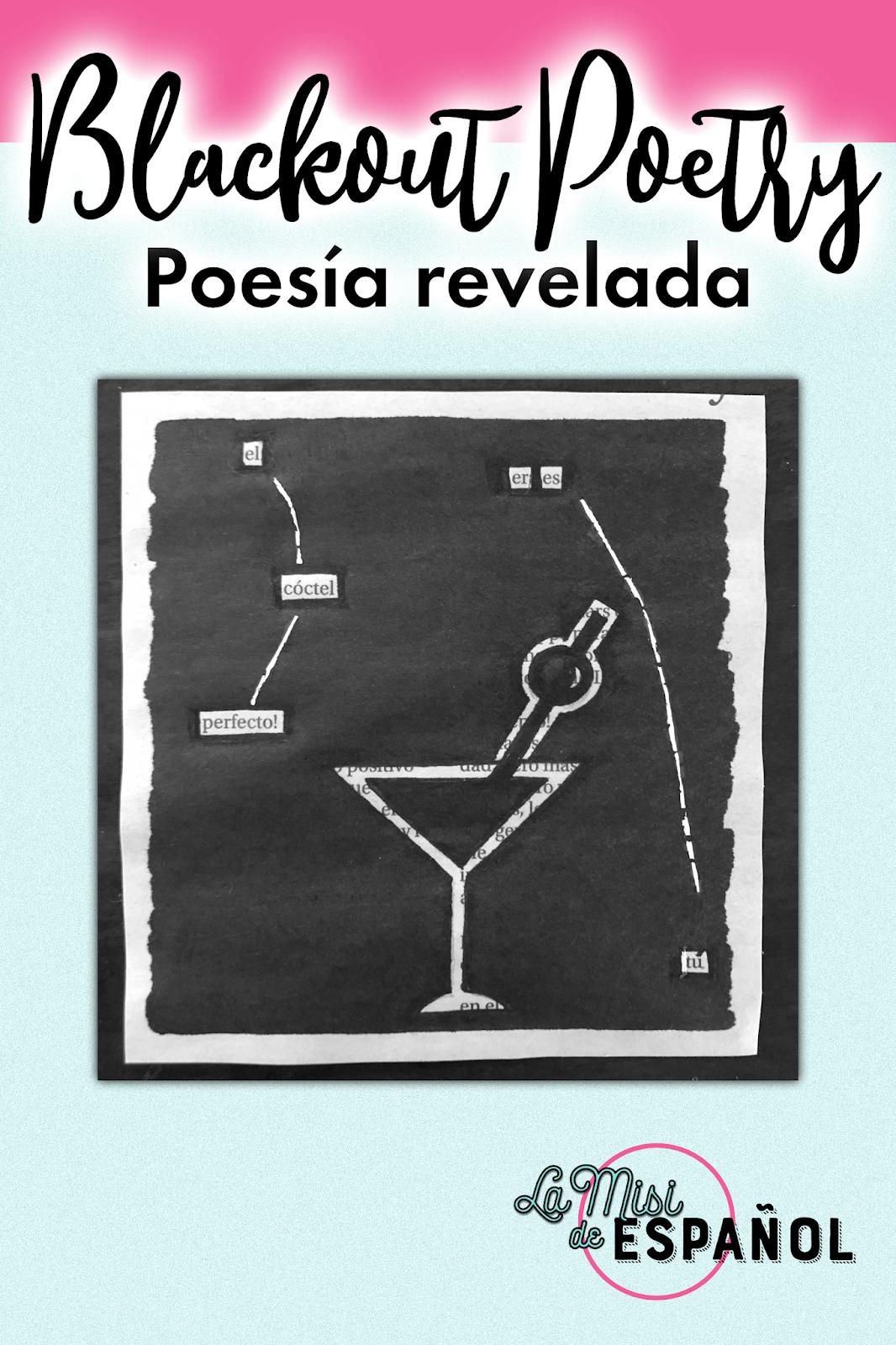 Aprende los pasos para crear un poema blackout para ti o para enseñar a tus alumnos con este tutorial.