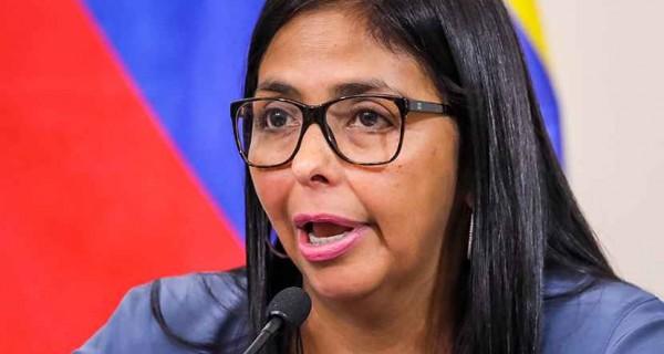 Delcy Rodríguez anuncia ley de Amnistía para presos políticos