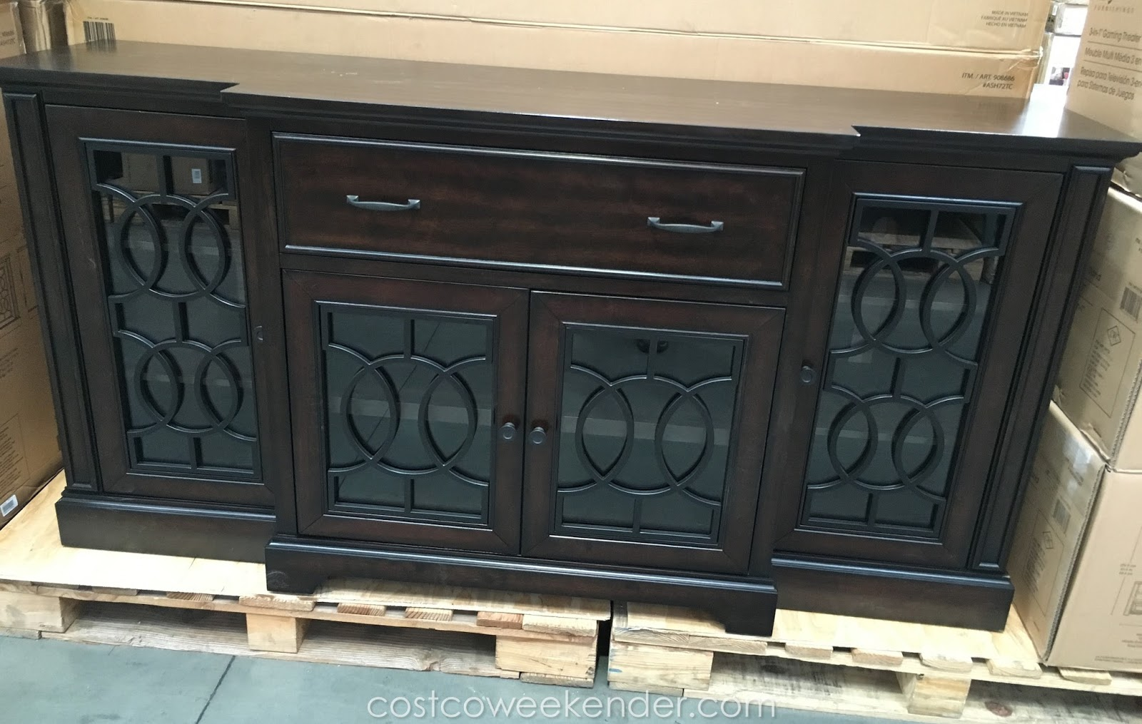 Bayside Furnishings Ashcroft Tv Console Clic Look For Any Decor