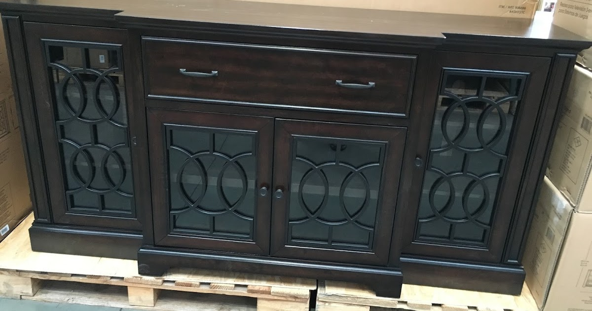 Bayside Furnishings Ashcroft Tv Console Costco Weekender