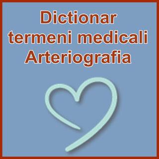 Dictionar termeni medicali Wiki Arteriografia periferica pretul sanatatii
