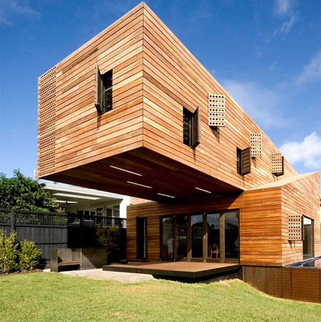 Architects: Jackson Clements Burrows Pty. Ltd. Location: Howthorn, Melbourne, Australia Project Team: Tim Jackson, Joachim Quino Holland Builder: Central Home Constructions Pty. Ltd. Structural Engineer: Adams Consulting Engineers. Landscape: Adlib Design Clients: Georgie Pettigrew and David McCombe Project Year: 2009 Photographs: Emma Cross